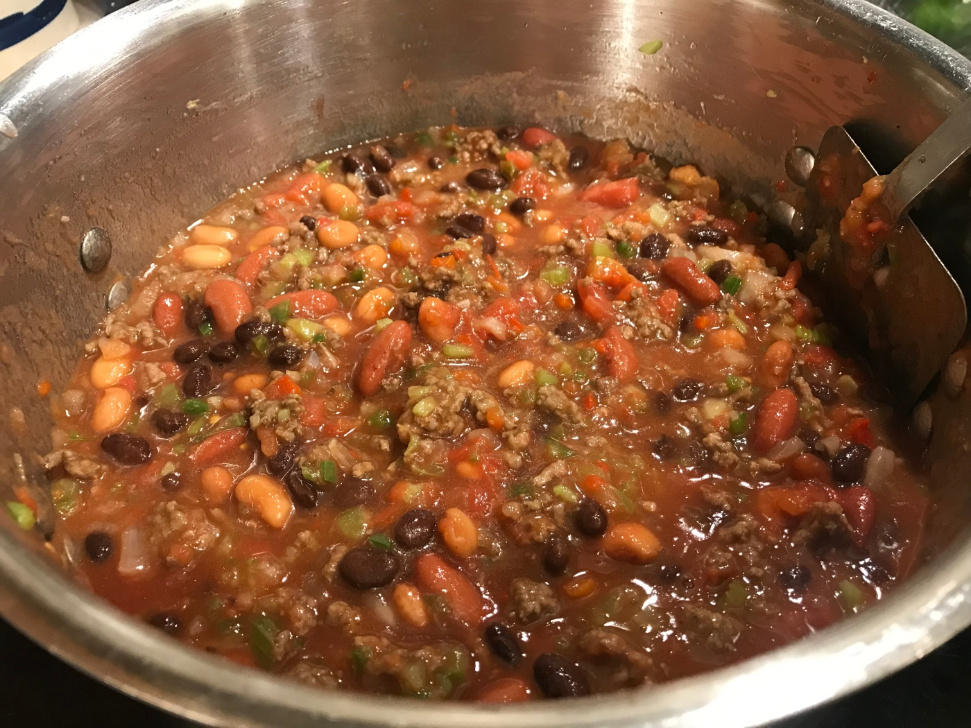 Creole Chili In-the-Pot